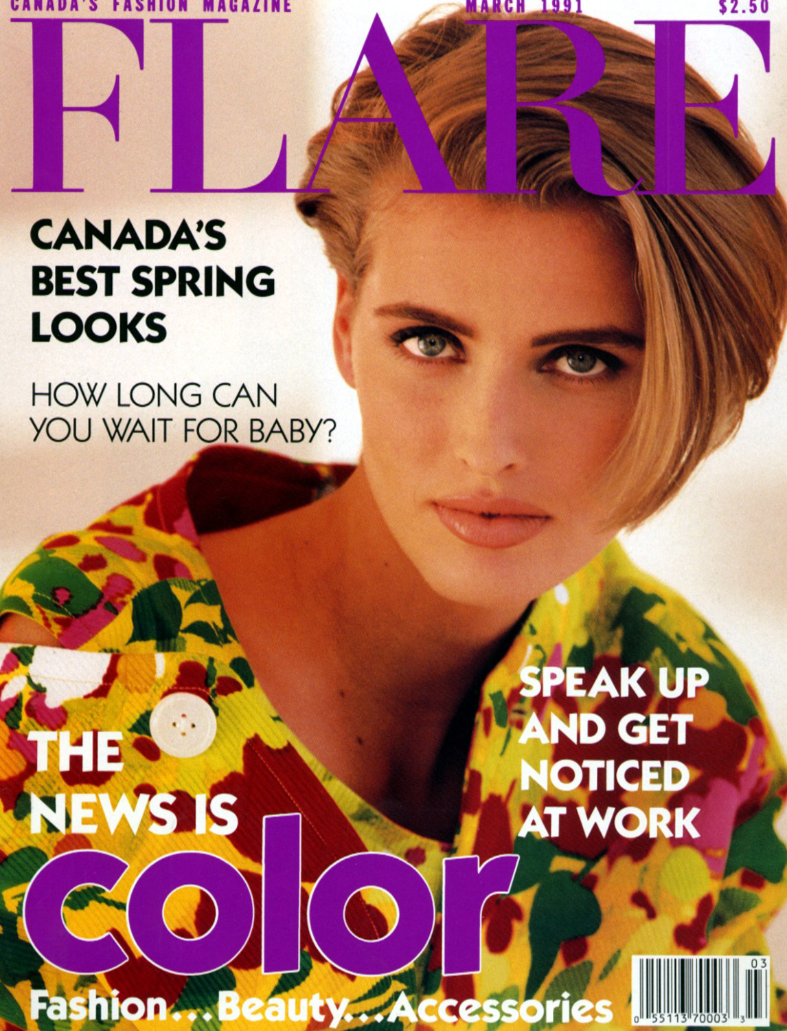 Covers Of Flare Canada With Cathy Fedoruk 000 1991
