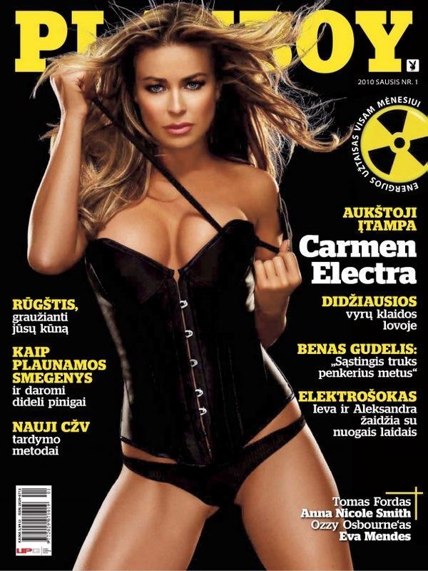 Carmen Electra nackt geladen Januar 2010