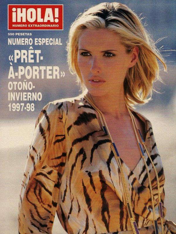 Covers of hola pret a porter with judit masc 958 1997 for Pret a porter history