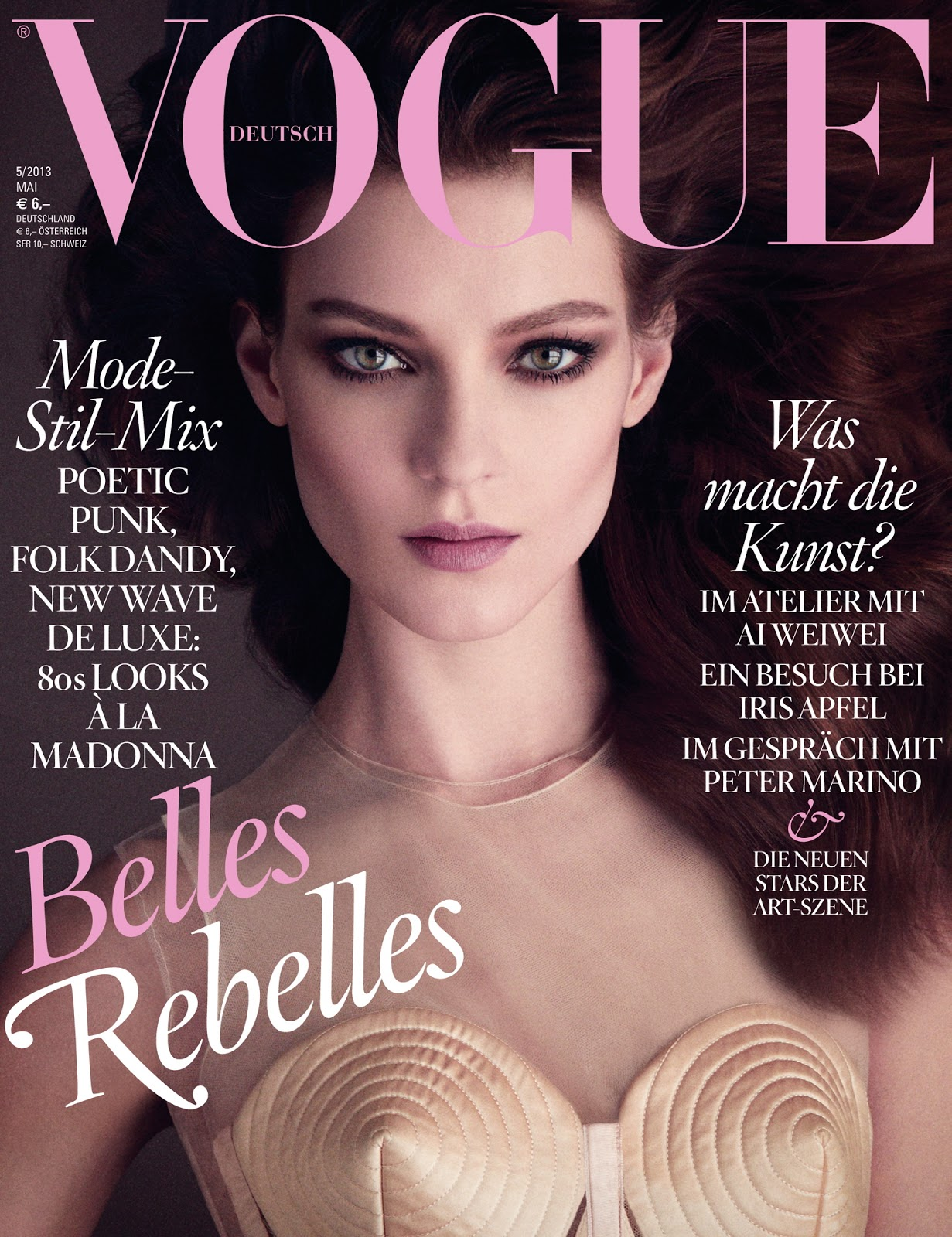 covers of vogue germany with kati nescher 958 2013 magazines the fmd. Black Bedroom Furniture Sets. Home Design Ideas