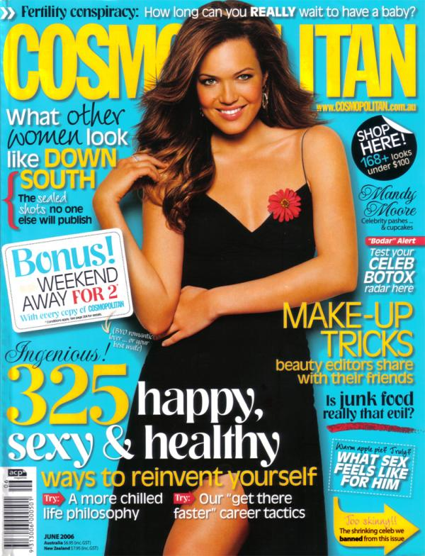 Cosmopolitan Australia with Mandy Moore - High Resolution - June 2006