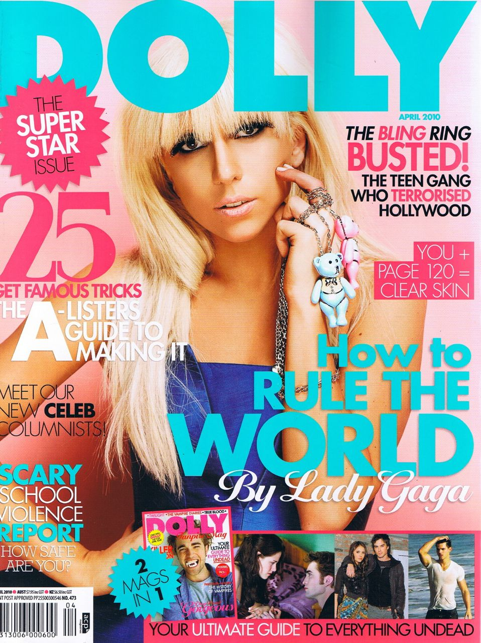 Http Www Fashionmodeldirectory Com Magazines Dolly Covers April 2010