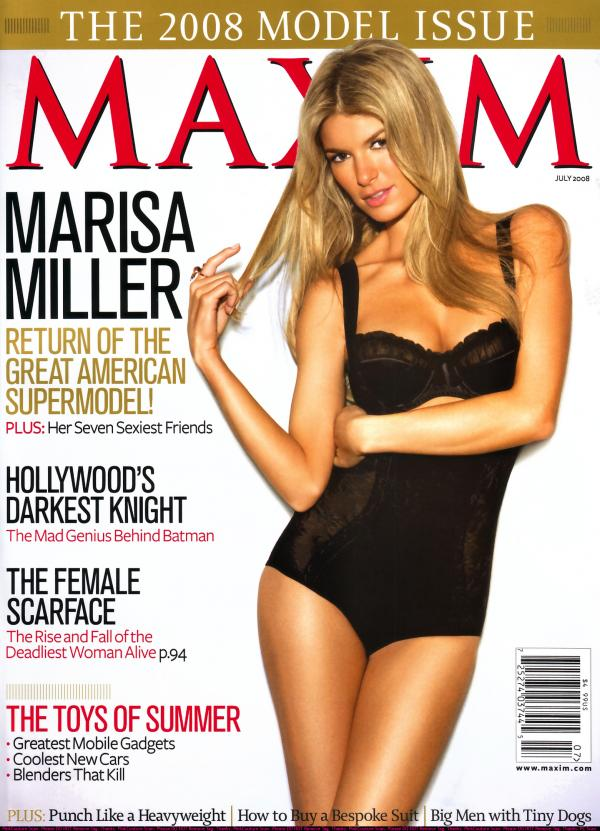 Maxim Magazine July 2008